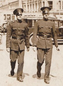 RUC officers in 1922.