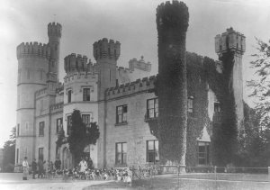 Myode caste, which the insurgents took over. (Courtesy Galway City Library)