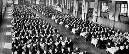 An industrial school an example of state and Church care for children in the 1950s. (Picture courtesy of www.childabusecommission.ie )