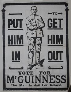 Sinn Fein poster 1918. Source Capuchin Archives.