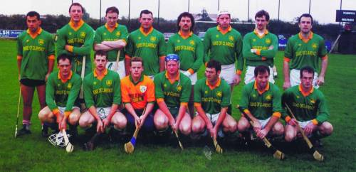 Andy (second from left at back) with the 1994 Colllins Cup-winning Brothers Pearse team