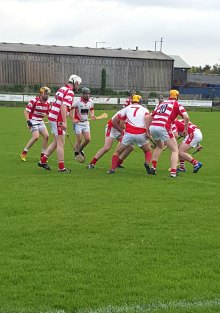 Four point win secures the semi final place for Treacy's