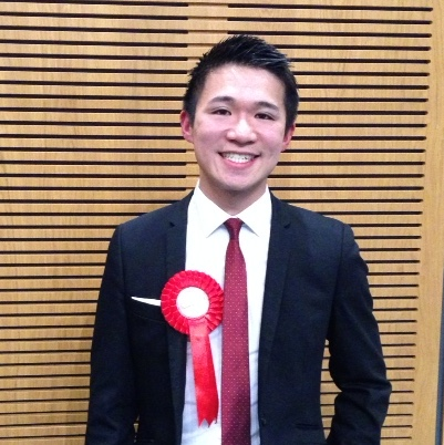 Jumbo Chan elected to Brent Council
