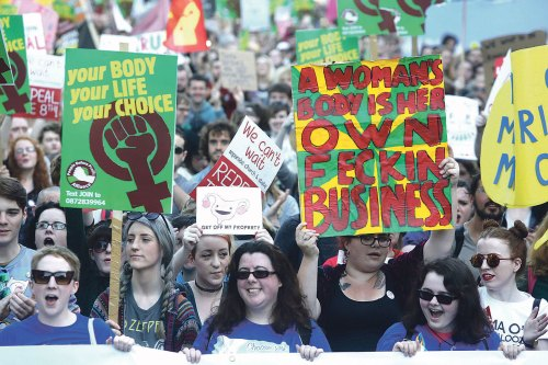 Irish women's 100 abortions 'a week'