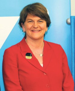 Warm welcome from all for NI's first woman First Minister