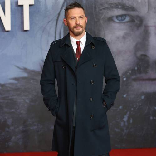Tom Hardy's son 'changed his life'