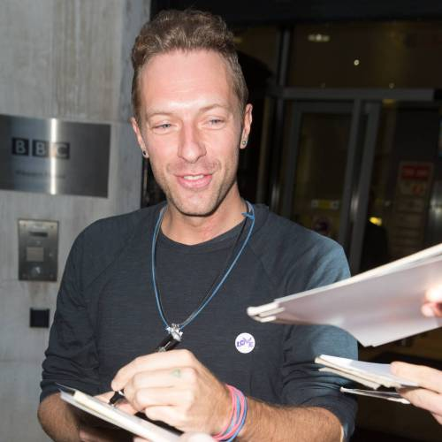 Chris Martin: 'I wish Coldplay's name was as famous as Adele's'