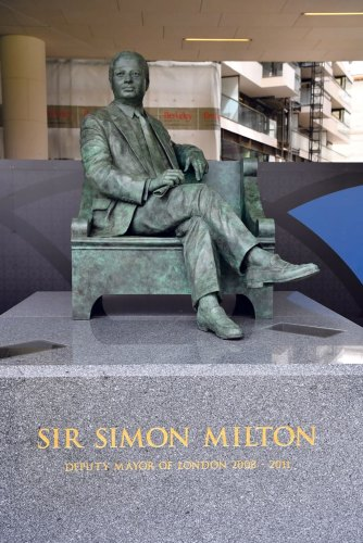 Another statue for Westminster's Sir Simon
