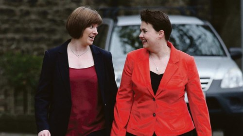 Scottish Tory leader weds long-term Irish partner