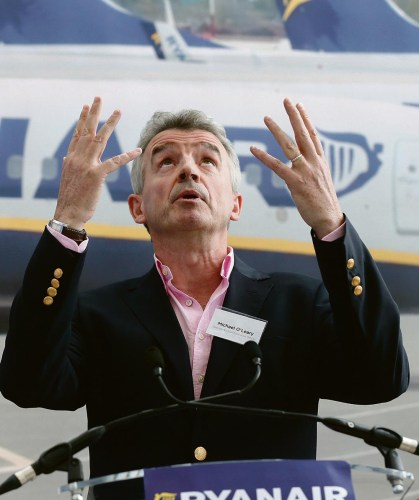 Brexiteers report Ryanair to the police