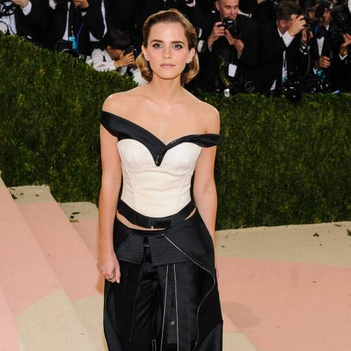 Emma Watson was fantastic in plastic at the Met Gala