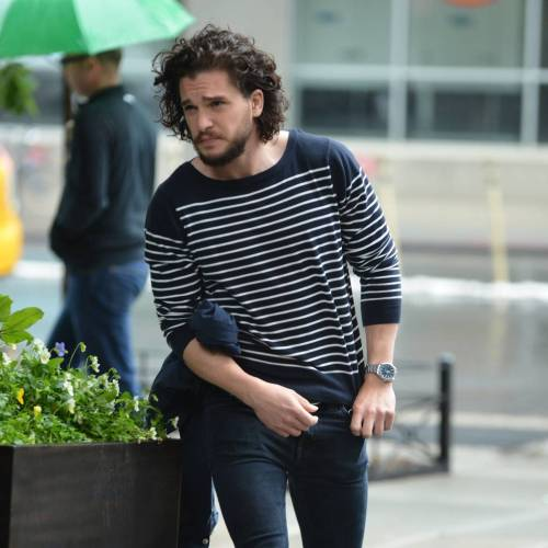 Kit Harington's Jon Snow character inspiring man-perms
