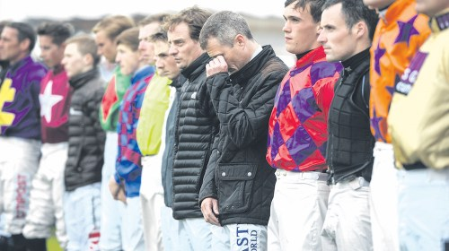 Racing community respects JT McNamara