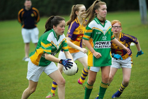 GAA Greenford girls nine side tournament