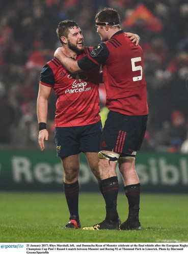 Rugby Home sweet home Munster Leinster