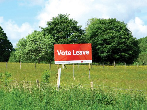 Areas voted leave hardest hit Brexit