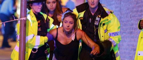 UK General Election campaign temporarily suspended Manchester suicide bombing