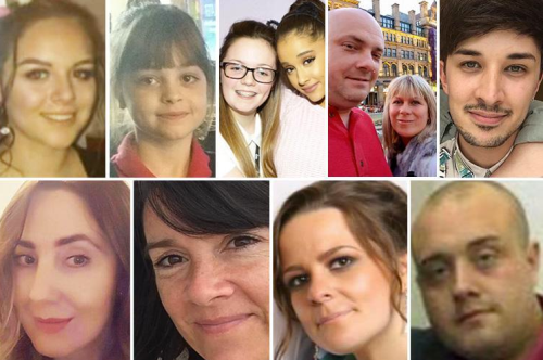 victims identified Manchester pulls together