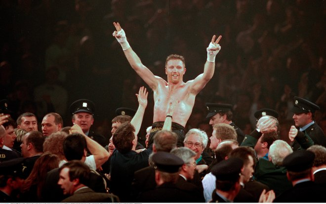 Nigel Benn and Steve Collins agree to rematch after 21 years