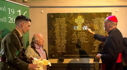 Photos Britains First 1916 Memorial Unveiled