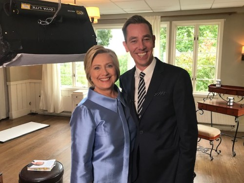 Ryan Tubridy's Late Late Show interview Hillary Clinton