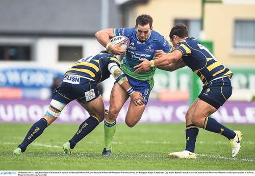 Rugby Leinster showing challengers form