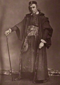 Irving as Shylock