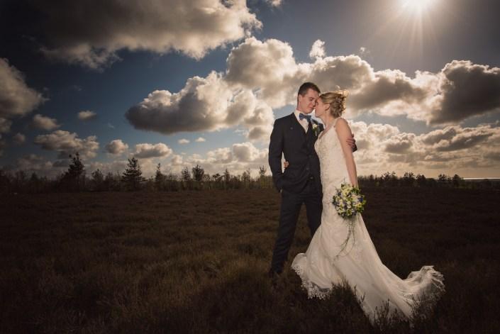 Smuk dansk natur i danske bryllupsbilleder