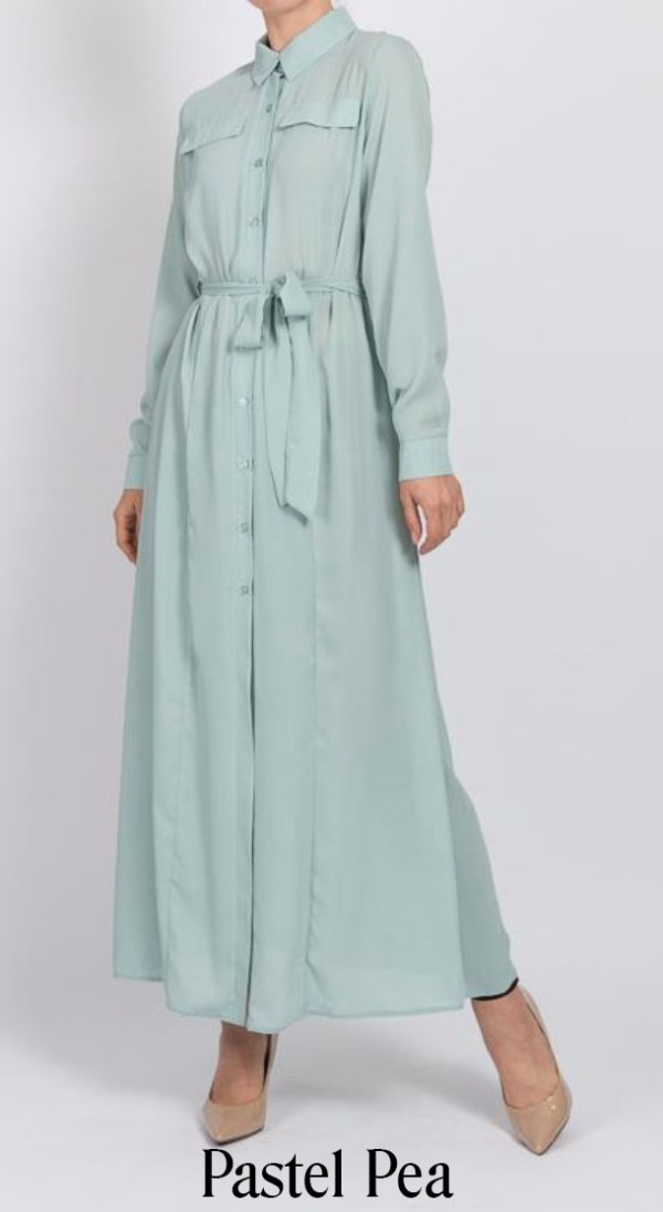 Maxi Long Shirt by Q&S Islamic Store