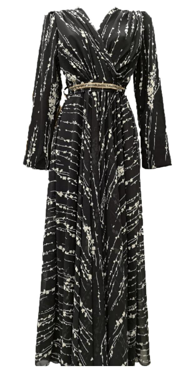 Chiffon Dress by Q&S Islamic Store