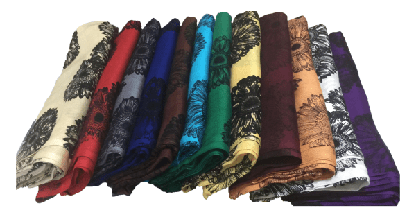 Cotton Printed Scarf by Q&S Islamic Store