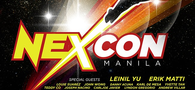 NexCon Manila – the ultimate science fiction and fantasy party!