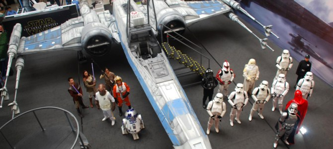 The Force Awakened and everything was awesome