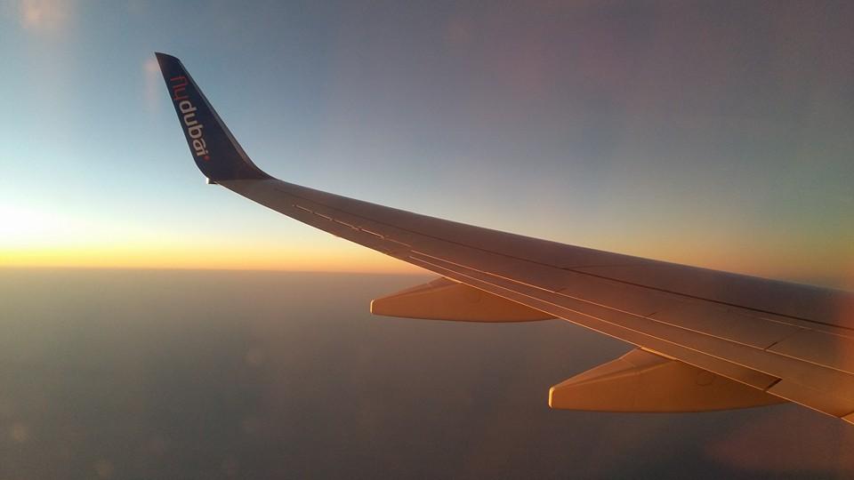 FlyDubai on air