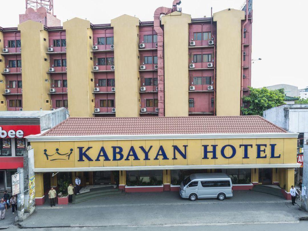 Kabayan Hotel entrance at Taft Avenue