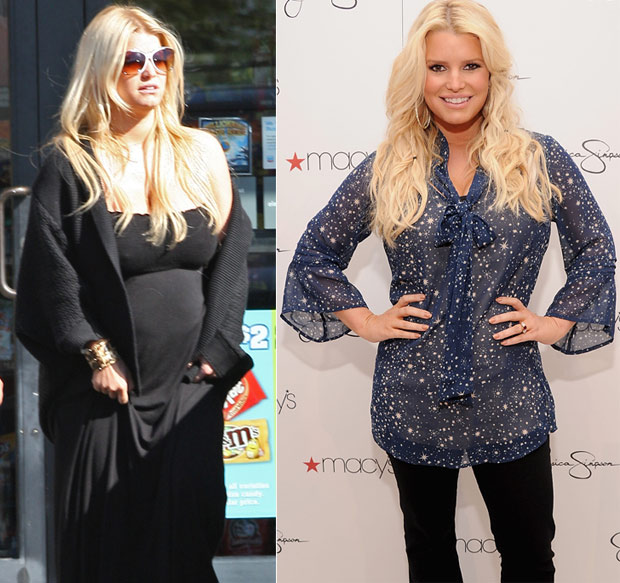 celebs lost weight 17