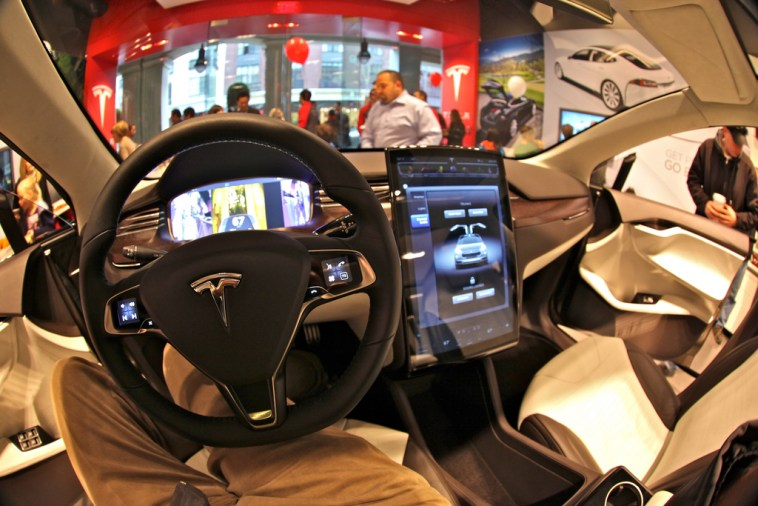 Excitement as Tesla's Car Driving Technology Accurately Predicts a Road Crash