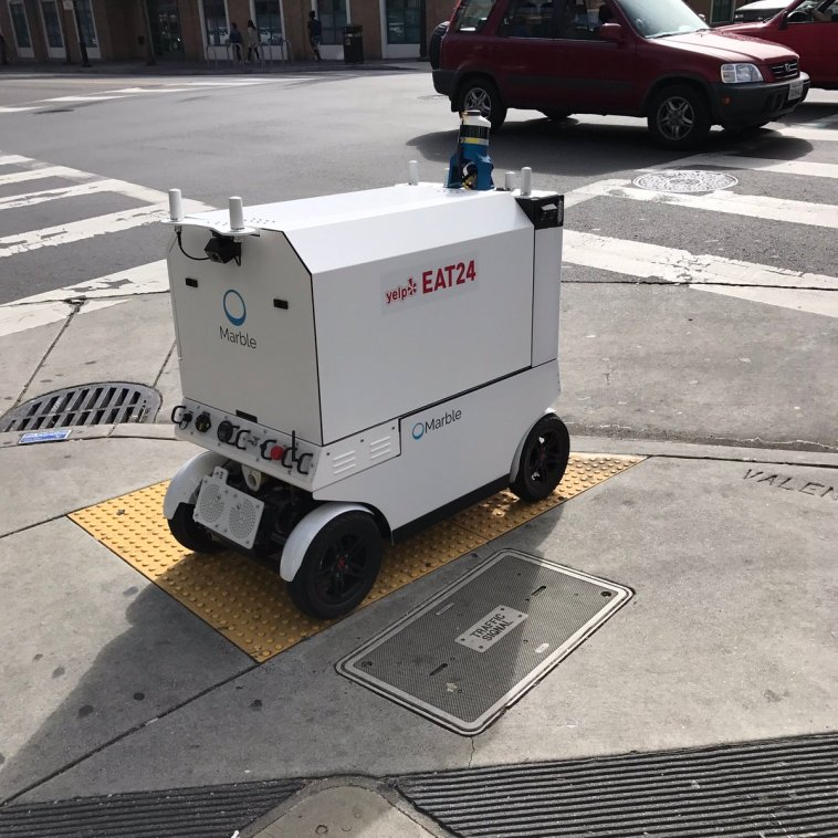 Yes! Food Delivery Robots are Coming!