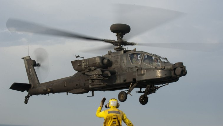 US Started Testing Apache Helicopters with Mounted Laser Beams