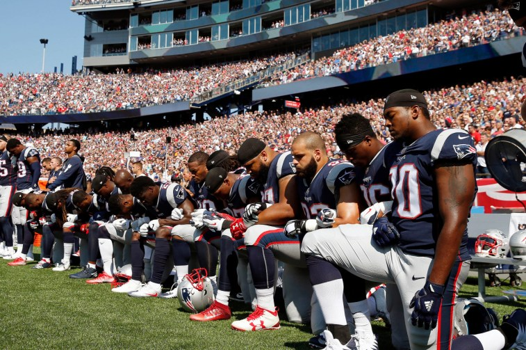 nfl protests donald trump ratings drop