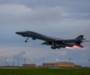 us bombers fly over Korean peninsula