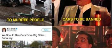 buzzfeed asks for cars to be banned