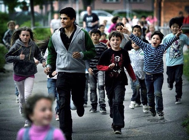 sweden refugee children