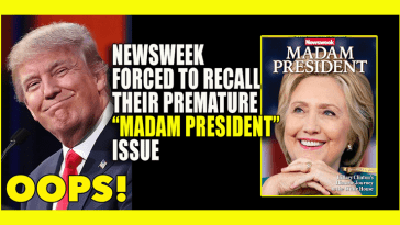 newsweek believes hillary clinton can be president
