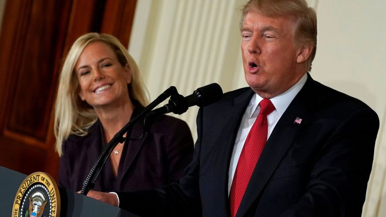 nielsen and trump sanctuary crackdown