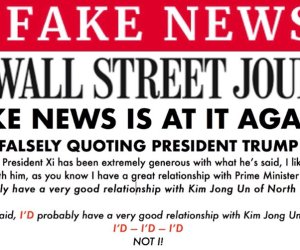 wall street fake news