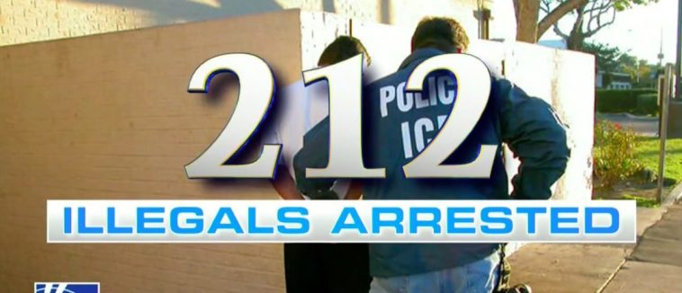 ICE Rounds Up 212 Illegal Immigrants; A Shocking Number Of Them Are Violent Criminals