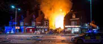 Police Respond To Massive Explosion In Leicester, England (VIDEO)