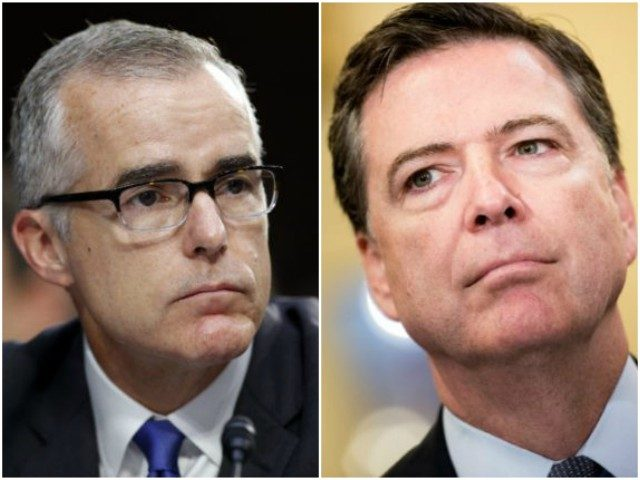 Trump Blasts Sanctimonious James Comey and Andrew McCabe in Twitter-storm