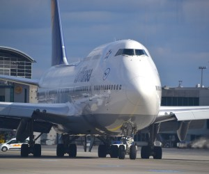 Aircraft Lufthansa Boeing 747 Aviation Airliner